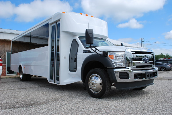 22 Passenger Party Bus Rental Irving Texas