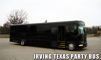 Irving Party Bus Rental
