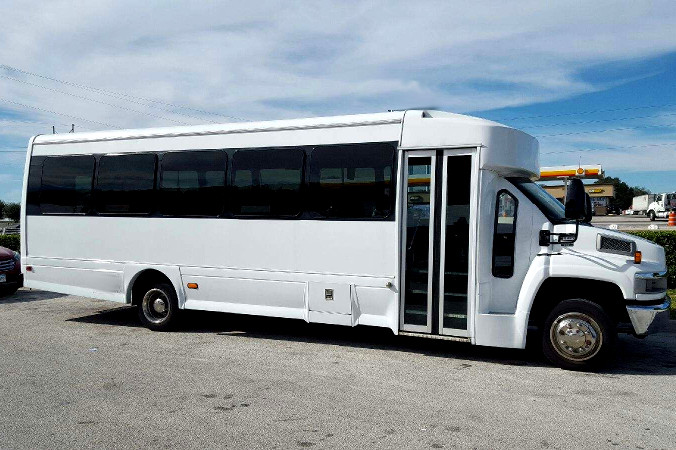 Irving Texas 36 Passenger Shuttle Bus