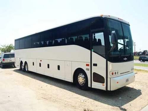 Irving Texas 56 Passenger Charter Bus